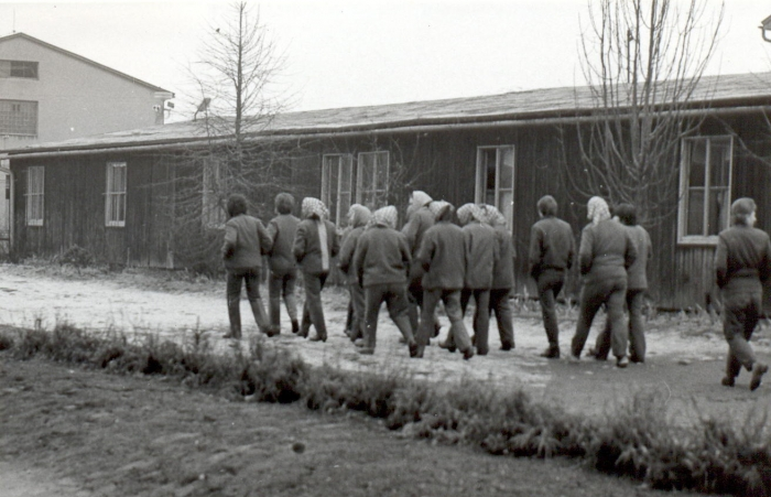 A group of women political prisoners in Pardubice prison, the beginning of the 1960s